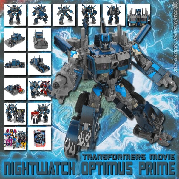 Movie Nightwatch Optimus Prime (D)