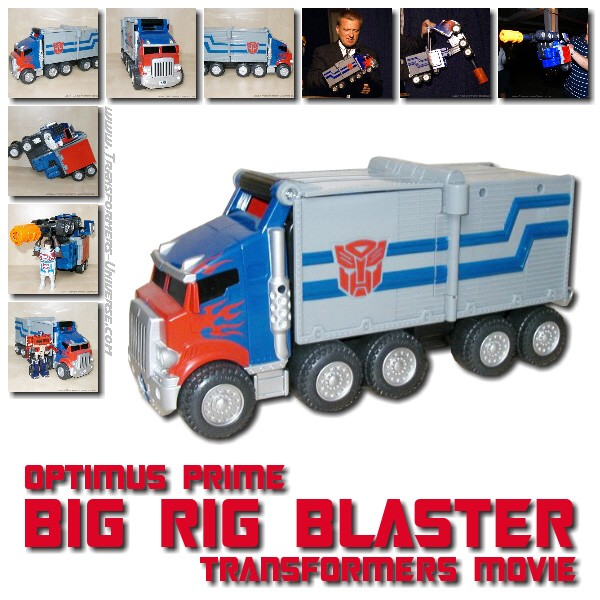 Movie Optimus Prime Big Rig Blaster