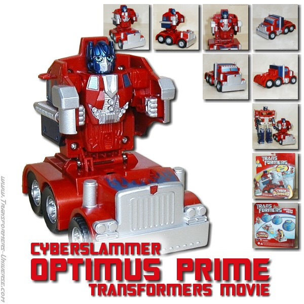 Movie Optimus Prime Cyberslammer