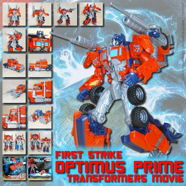 Movie First Strike Optimus Prime