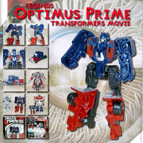 Movie Optimus Prime Legends
