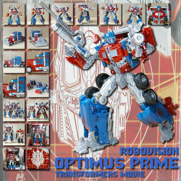 Movie Optimus Prime Robovision