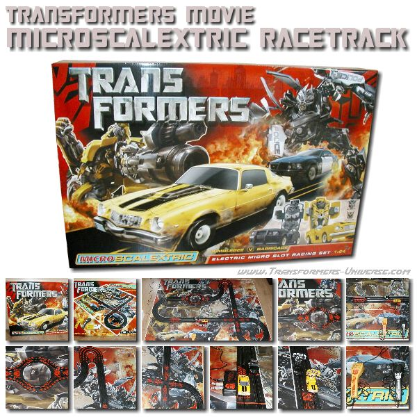 Movie MicroscaleXtric Race Track