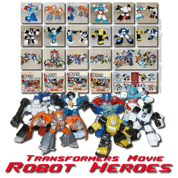 Movie Robot Heroes Wave II