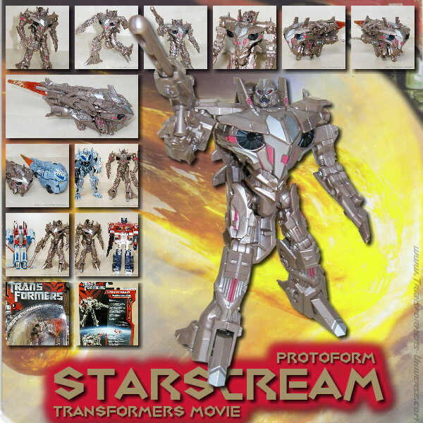 Movie Starscream Protoform