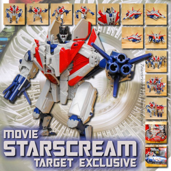Movie Starscream Target Exclusive