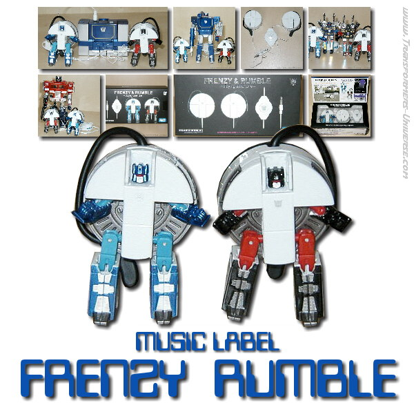 Music Label Frenzy & Rumble