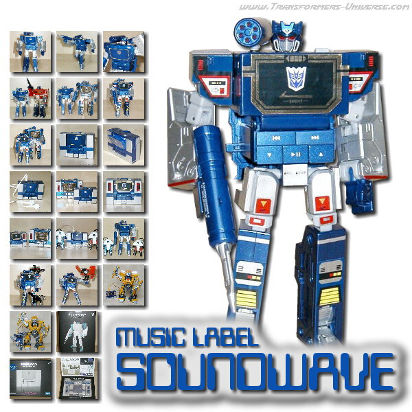 Music Label  Soundwave Spark Blue (2007)