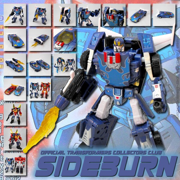 Transformers Collectors Club  Sideburn (2011)