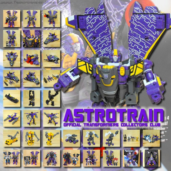 Transformers Collectors Club  Astrotrain (2007)