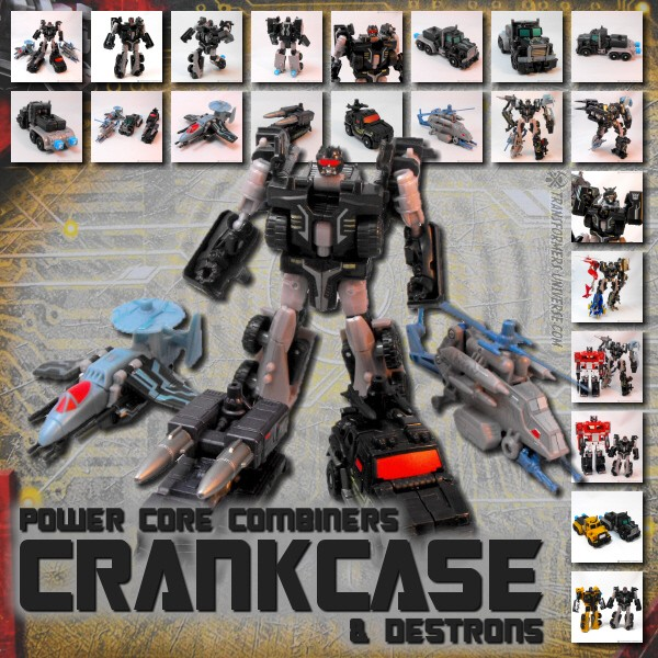 Power Core Combiners  Crankcase (2010)