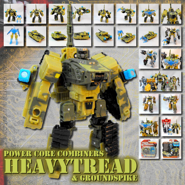 PCC Heavytread & Groundspike