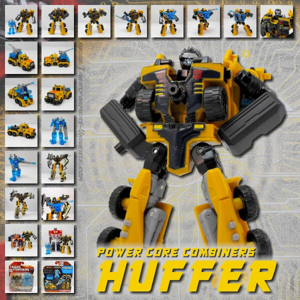 Power Core Combiners  Huffer (2010)