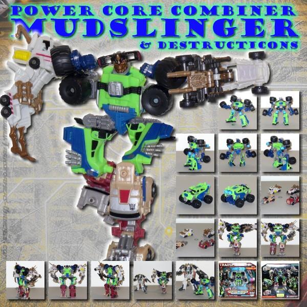 PCC Mudslinger & Destructicons