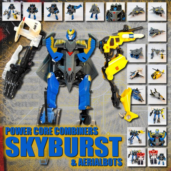 Power Core Combiners  Skyburst (2010)
