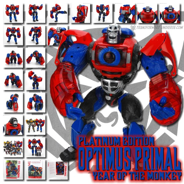 Platinum Edition Optimus Primal