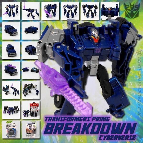 Prime Breakdown Cyberverse