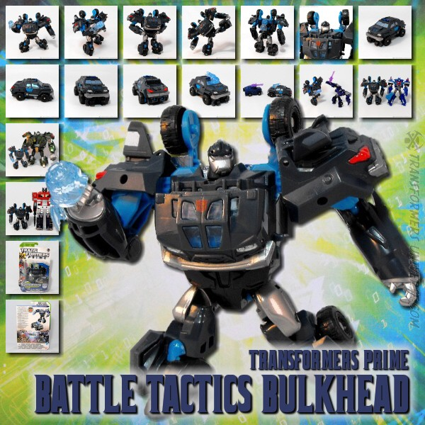 Prime Battle Tactics Bulkhead