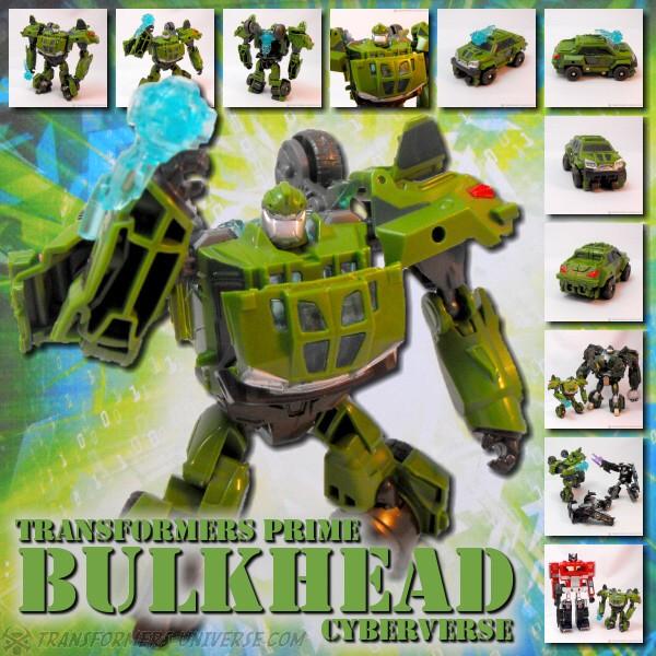 Prime Bulkhead Cyberverse (D)