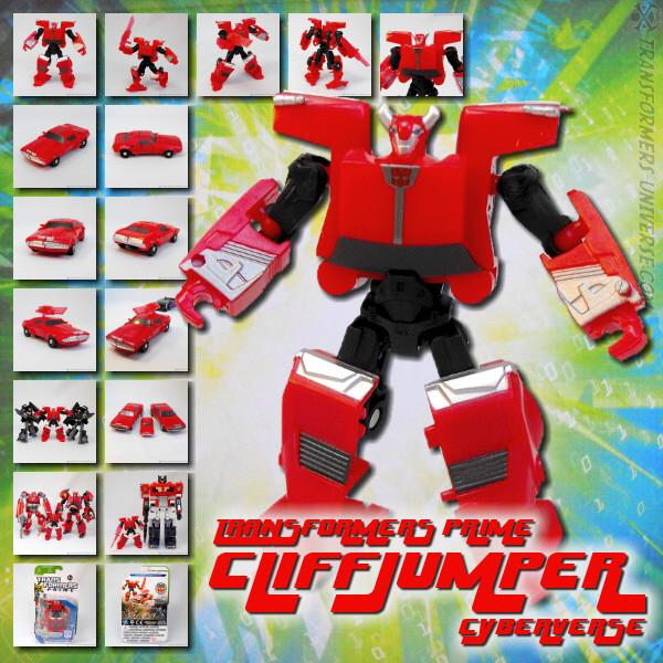 Prime Cliffjumper Cyberverse