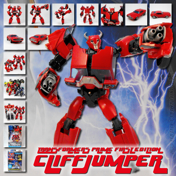 Prime Cliffjumper First Edition