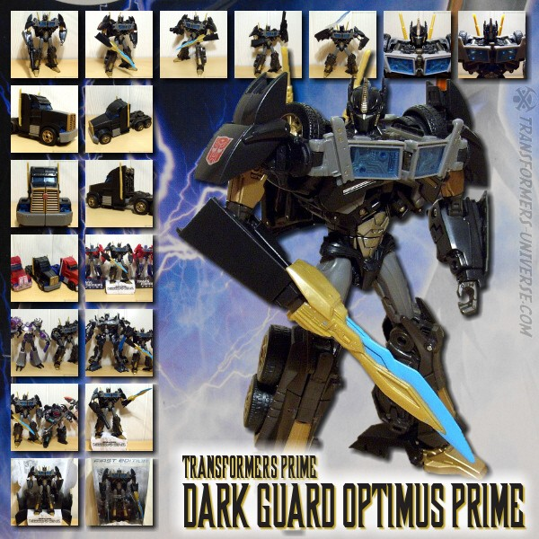 Prime Dark Guard Optimus Prime