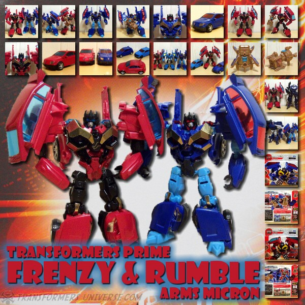 Prime Frenzy & Rumble Arms Micron