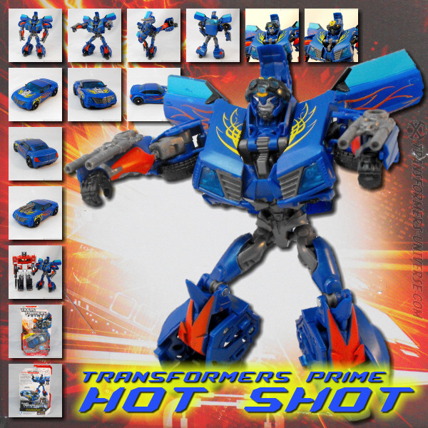 Prime Robots in Disguise Hot Shot (2012)