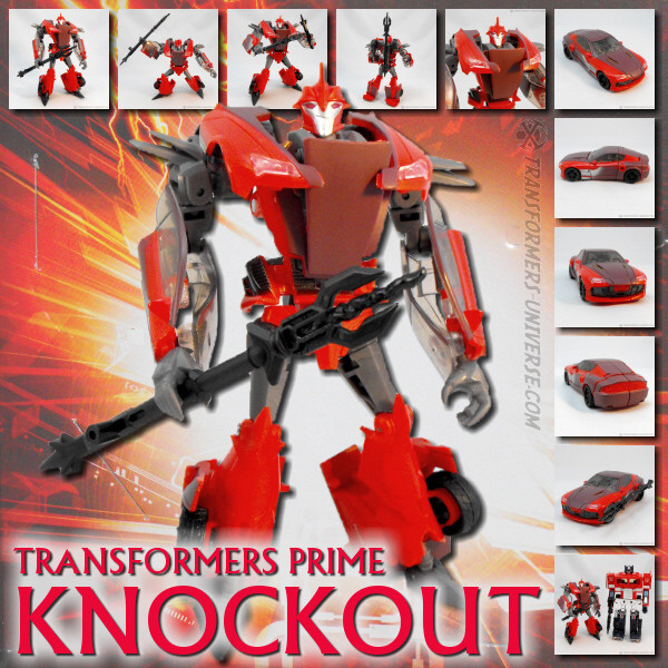 Prime Robots in Disguise Knockout (2012)