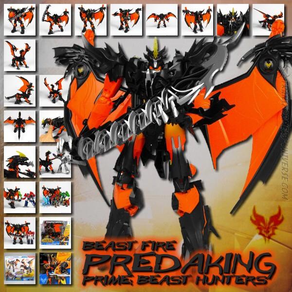 Prime Beast Fire Predaking