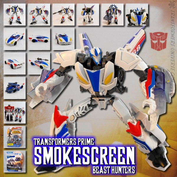 Prime Beast Hunters Smokescreen (2013)