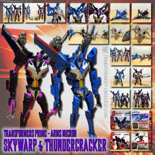Prime Skywarp & Thundercracker