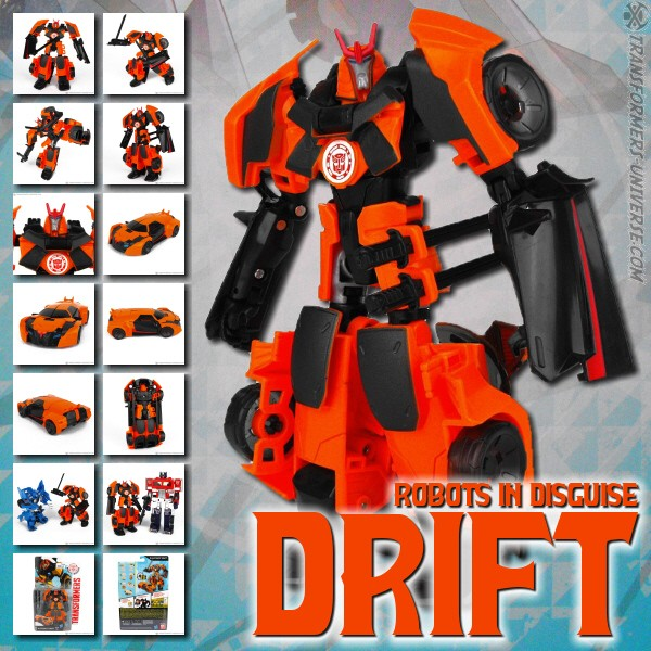 Robots in Disguise 2.0  Drift (2015)