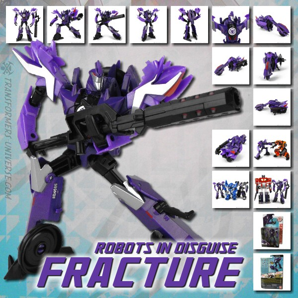 Robots in Disguise 2.0  Fracture (2015)