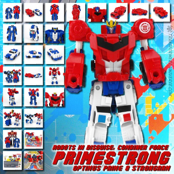 Robots in Disguise 2.0 Combiner Force Primestrong (2016)