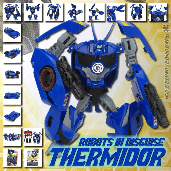 Robots in Disguise 2.0 Combiner Force Thermidor (2017)