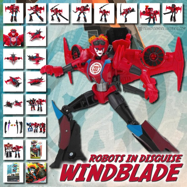 Robots in Disguise 2.0  Windblade (2016)
