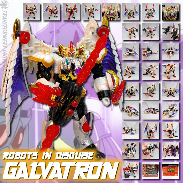 Robots in Disguise  Galvatron (2001)