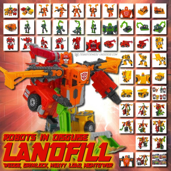 Robots in Disguise  Landfill (2001)