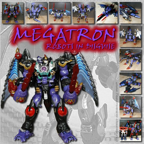 Robots in Disguise  Megatron (2001)