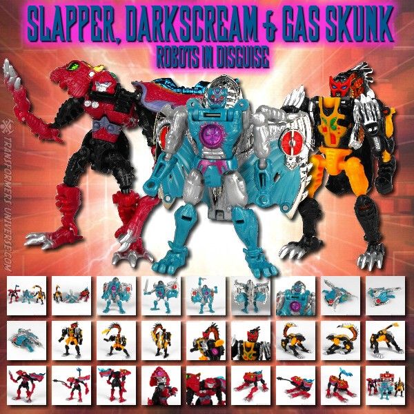 RID Slapper, Darkscream & Gas Skunk