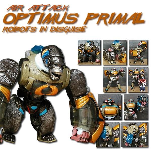 RID Air Attack Optimus Primal