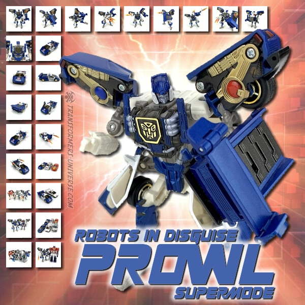 Robots in Disguise  Prowl Supermode (2002)