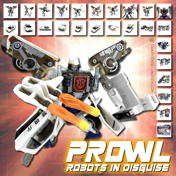 Robots in Disguise  Prowl (2001)