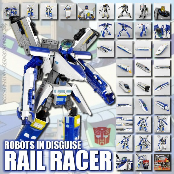 Robots in Disguise  Rail Racer (2001)