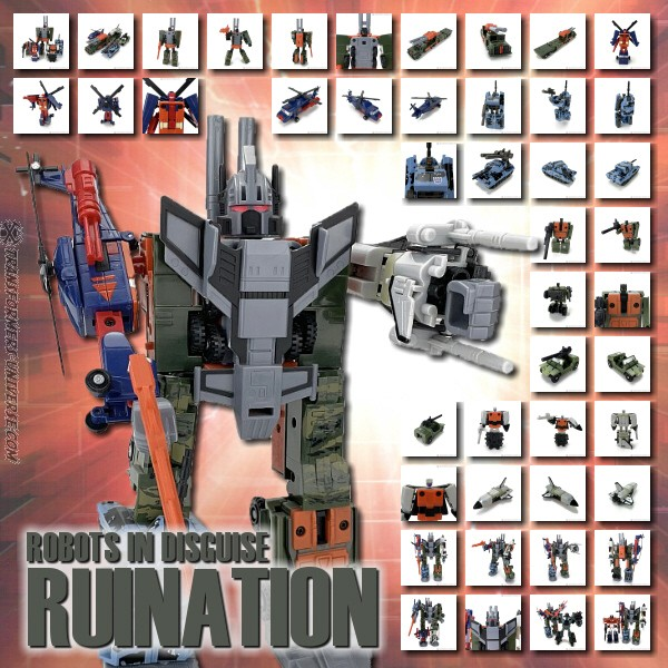 Robots in Disguise  Ruination (2001)