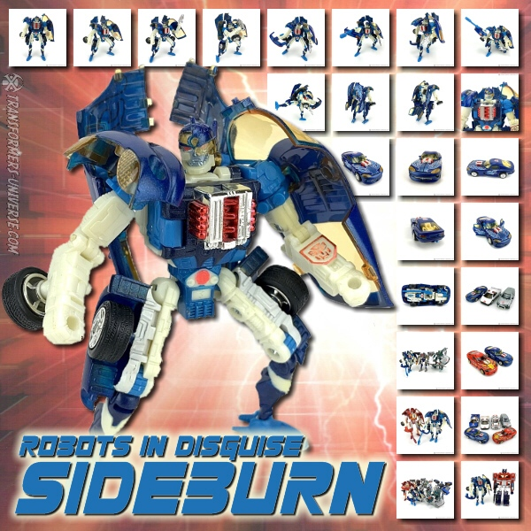 Robots in Disguise  Sideburn (2001)