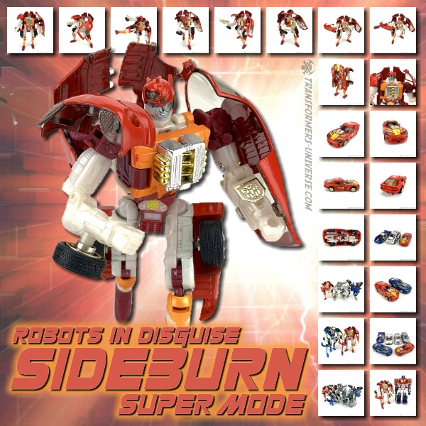 Robots in Disguise  Sideburn Supermode (2001)
