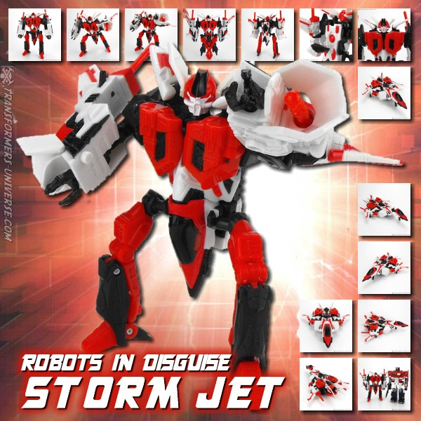 Robots in Disguise  Storm Jet (2001)