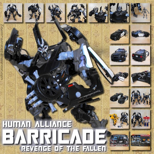 ROTF Barricade Human Alliance